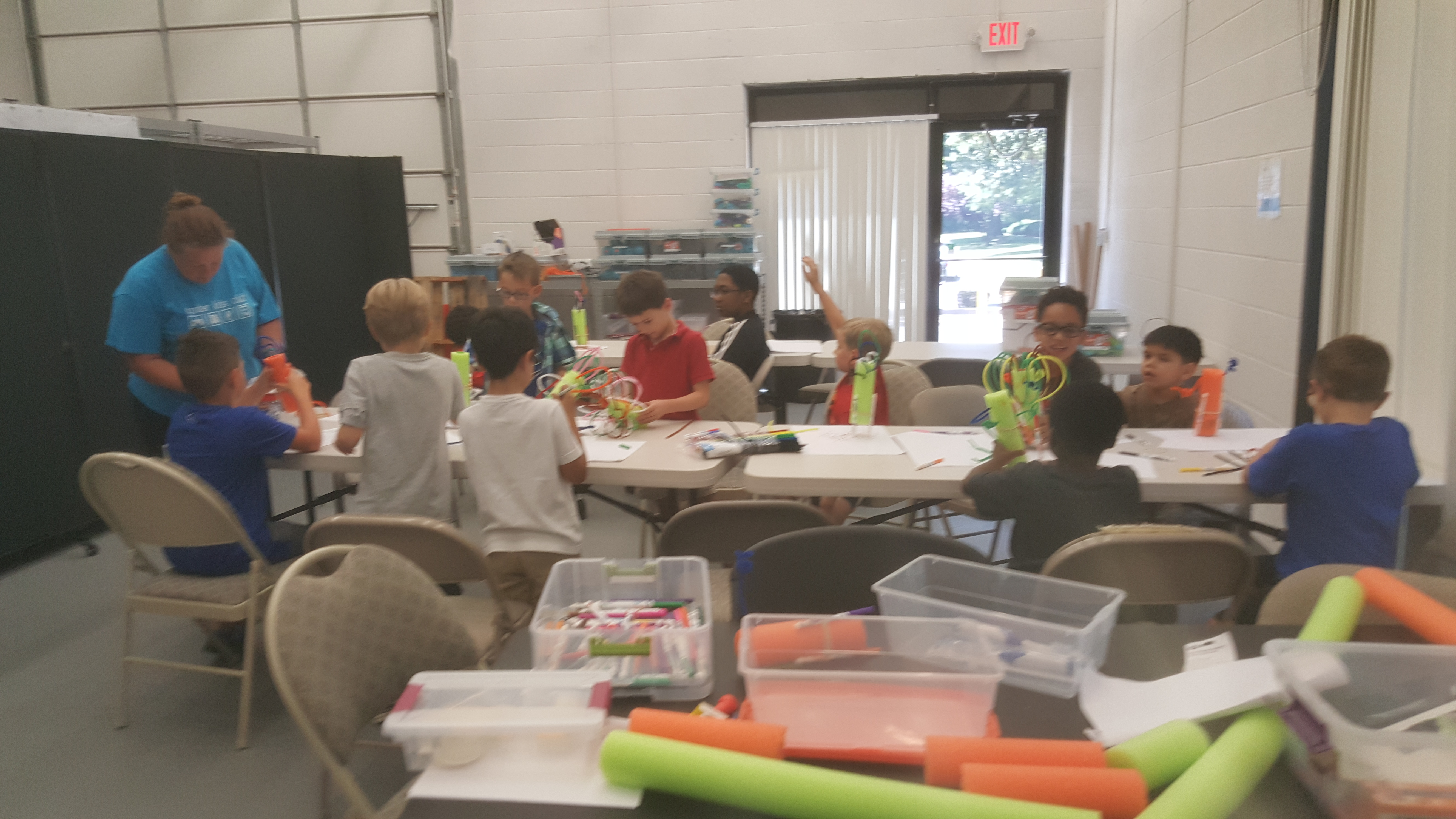 Young Inventors (Grades K-2) – Summer Camp – July 22-26, 2019